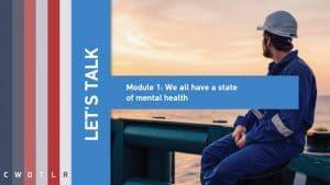 let's talk module 1