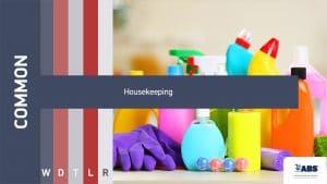 common housekeeping