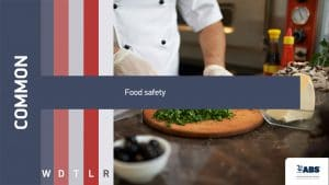 common food safety