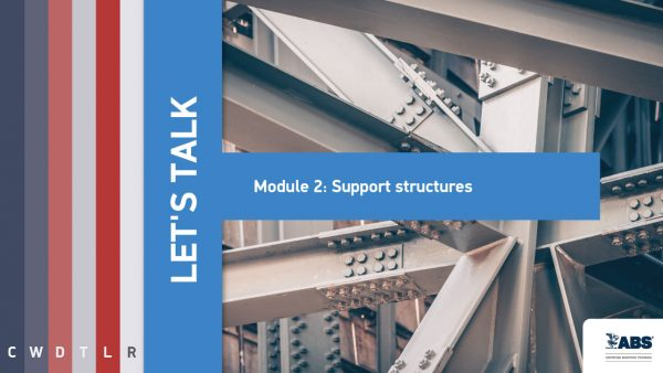 let's talk module 2 support structures