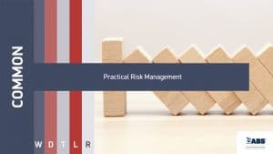 practical risk management