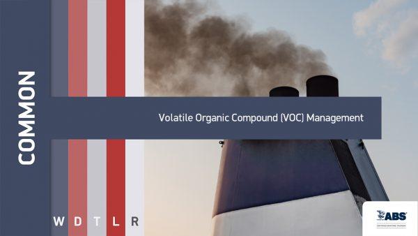 volatile organic compound management