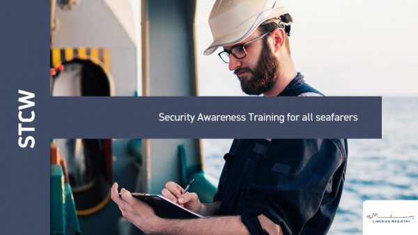 Security Awareness Training for all seafarers