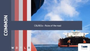 1072- COLREGs - Rules of the road